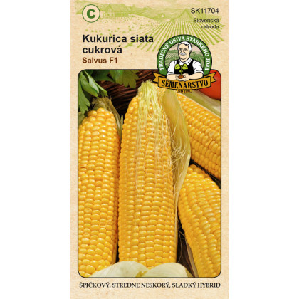 Salvus F1 kukurica cukrová neskorá 10g