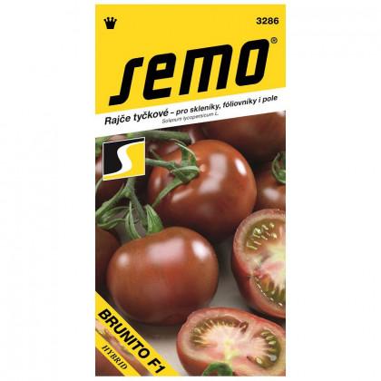 Brunito F1 rajčiak kolíkový nepraskajúci odolný 20 semien
