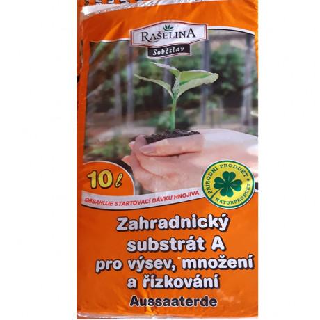 Záhradný substrát A - na výsev 10 L