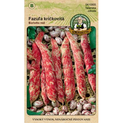 Borlotto Red fazuľa kríčková veľkozrnná 20 g