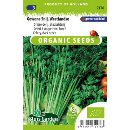 Bio osivo Genowe Snij Westlandse zeler listový cca 1250 semien