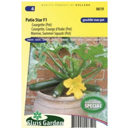 Patio Star F1 cuketa do kvetináčov 10 semien