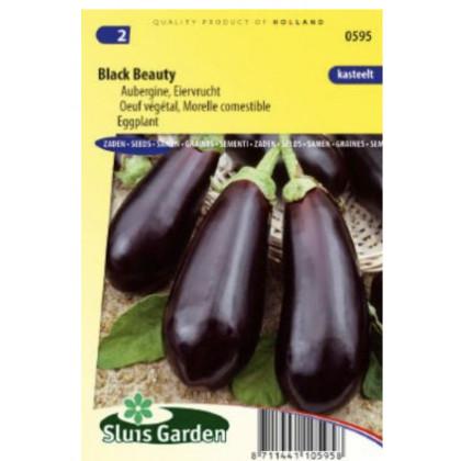 Black Beauty baklažán 135 semien