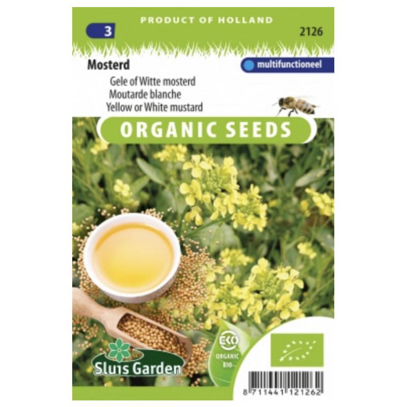 Horčica biela alebo žltá Bio 1150 semien