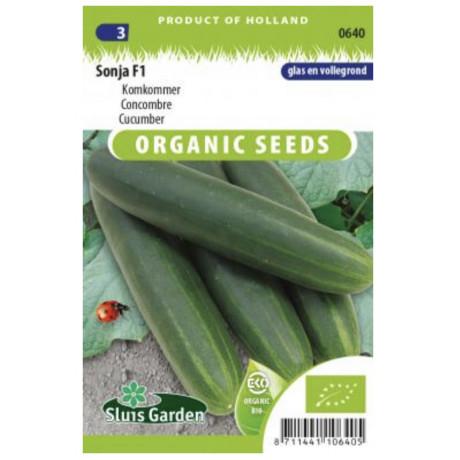 Sonja F1 uhorka šalátová Bio 20 semien