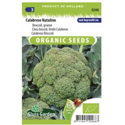 Calabrese Natalino brokolica BIO 325 semien