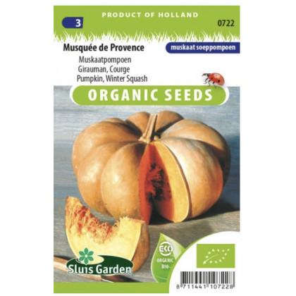 Musquée de Provence tekvica Bio 10 semien