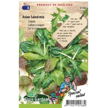 Orientálna listová zelenina zmes 2300 semien