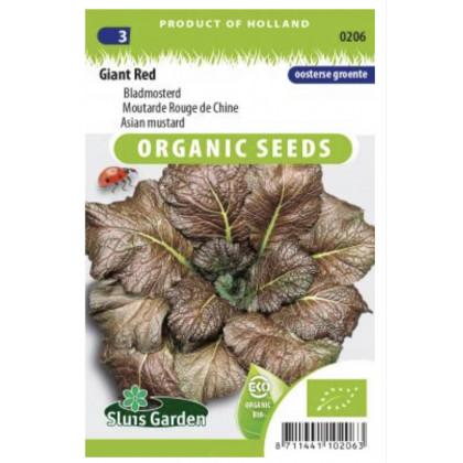 Red Giant Bio ázijská horčica 350 semien