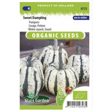 Gourd Sweet Dumpling Bio tekvica zimná 20 semien