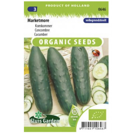 Marketmore uhorka šalátová rezistentná Bio 35 semien