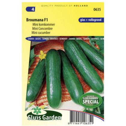 Broumana F1 mini uhorka šalatová 10 semien