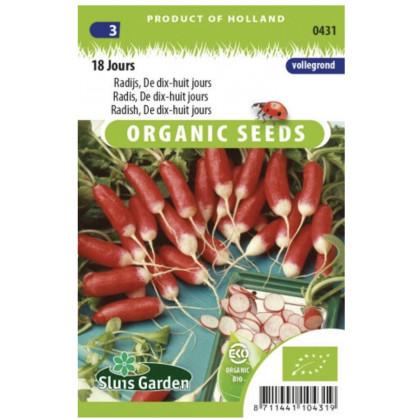 18 jours Bio reďkovka červená 475 semien