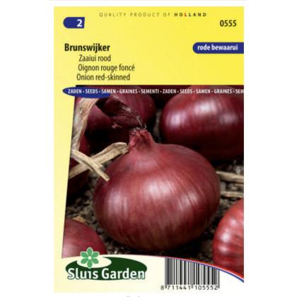Brunswijker cibula červená 525 semien