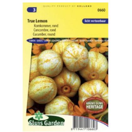 True Lemon uhorka špeciálna žltá 0.4 g