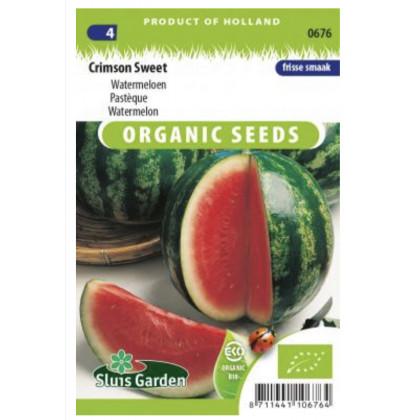 Crimson Sweet Bio melon červeny 35 semien