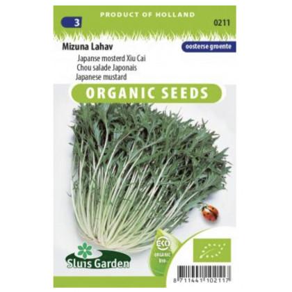 Mizuna japonská horčica Bio 375 semien