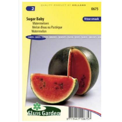 Sugar Baby melón červeny 35 semien