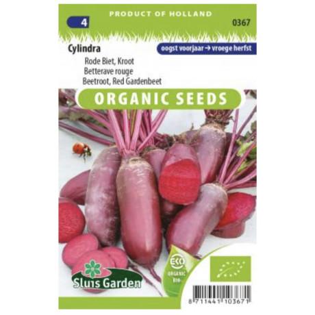 Cylindra cvikla červená podlhovastá Bio 190 semien
