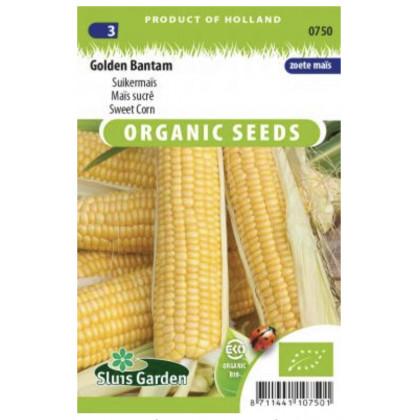 Golden Bantam kukurica Bio 12 semien