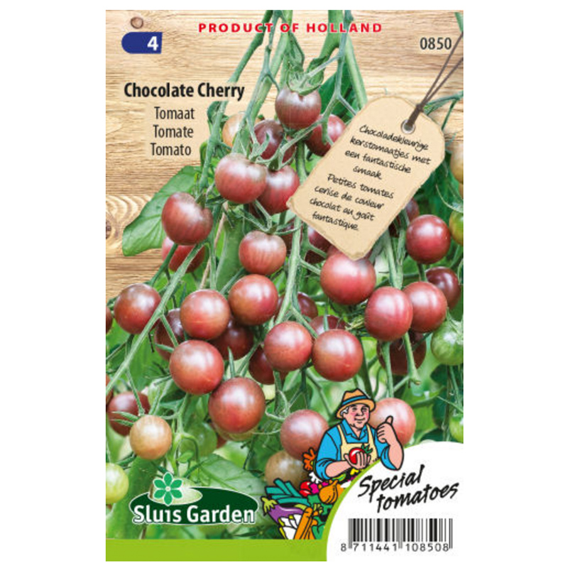 Chocolate Cherry rajčina 35 semien