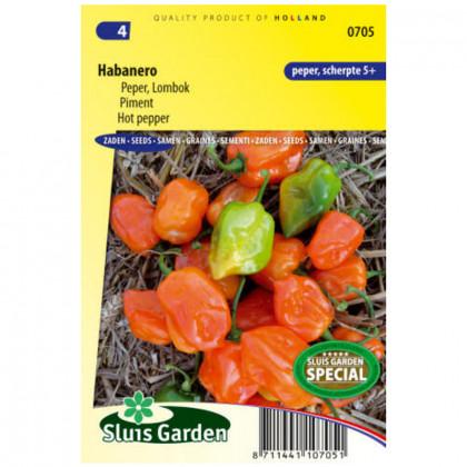Habanero hot paprika pikantná 10 semien