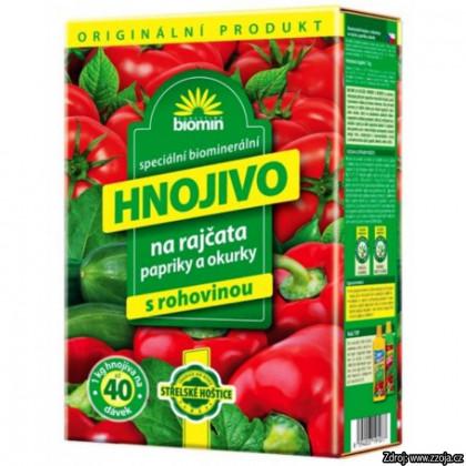 AgraBiomin hnojivo BIO na paradajky, uhorky, a papriky 1kg