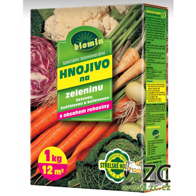 AgroBiomin hnojivo BIO na zeleninu 1 kg