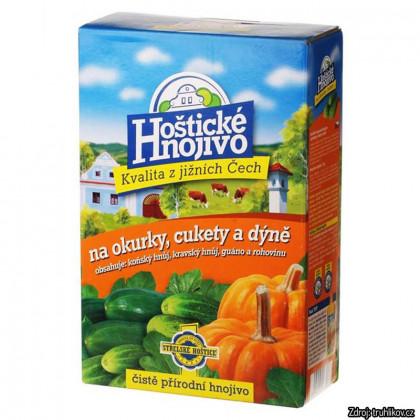 Hoštické hnojivo BIO na uhorky, cukety a tekvice 1 kg