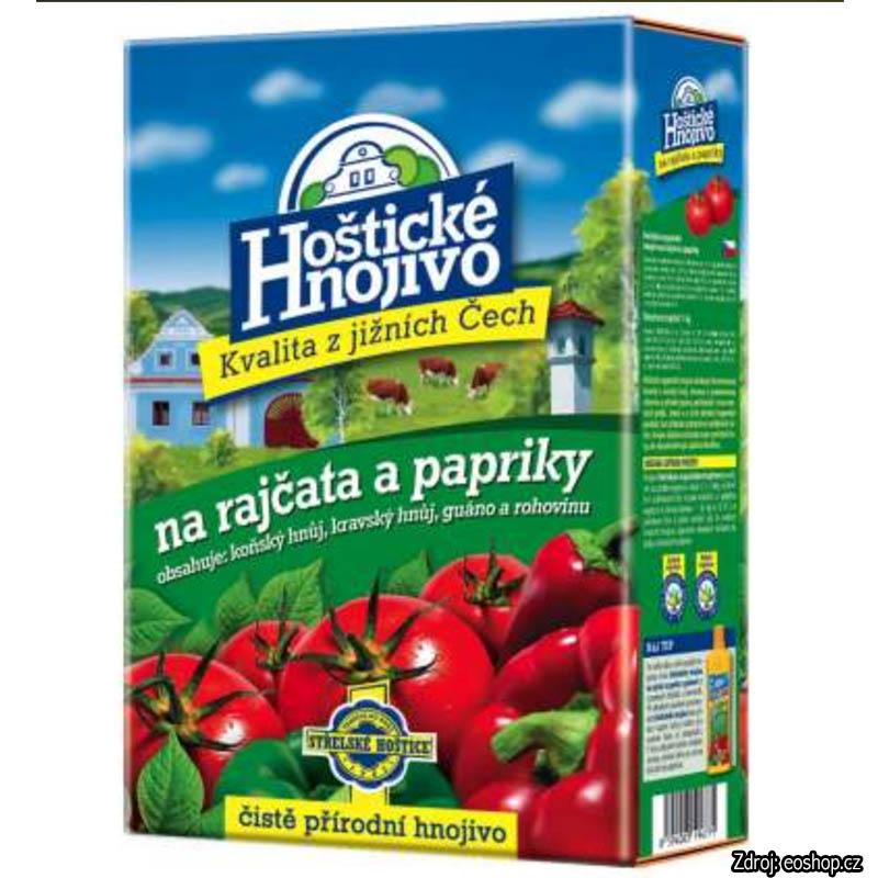 Hoštické hnojivo BIO na paradajky a papriky 1 kg