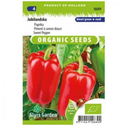 Jubilandska BIO paprika sladká 25 semien