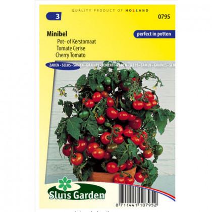 Minibel paradajka cherry kríková sladká 125 semien