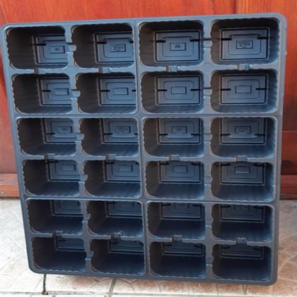 Sadbovač 24 buniek28x38x6 cm štvorcový