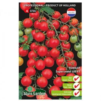 Supersweet 100 F1 rajčiak cherry kolíkový sladký 20 semien