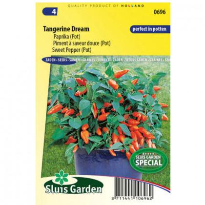 Tangerine Dream paprika sladká oranžová 20 semien