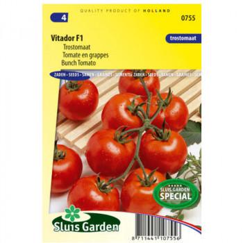 Vitador F1 rajčiak kolíkový strapcový 25 semien