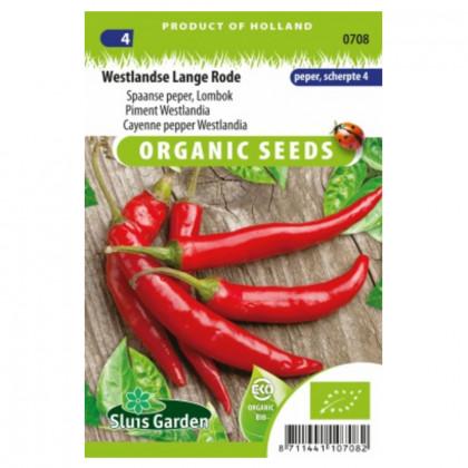Kajenská paprika Westlandia Bio paprika štipľavá 25 semien