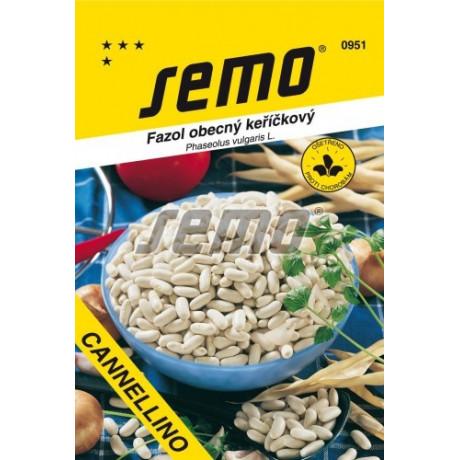 Cannelino fazuľa kríčková suché biele semená