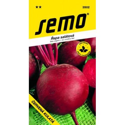 Červená kulatá nemorené osivo Cvikla guľatá Beta vulgaris 1kg