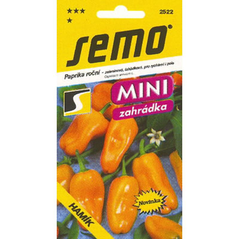 Hamík bio semená paprika 10g