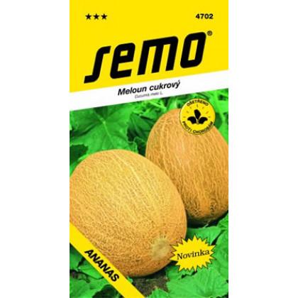 Ananas melón cukrový sladká dužina
