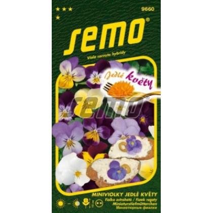 Fialka Jedlé kvety Viola cornuta 0,3g