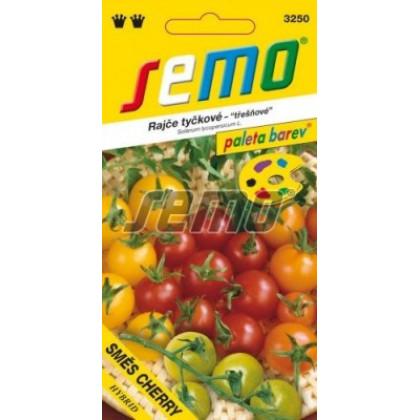 Zmes farieb cherry rajčiak kolíkový 10 semien