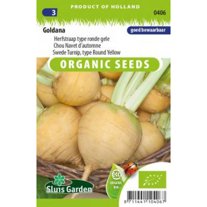 Goldana kvaka Bio žltá 900 semien