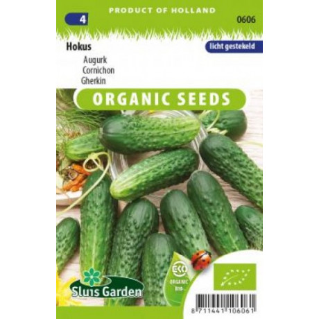 Bio osivo Hokus uhorky nakladačky cca 30 semien